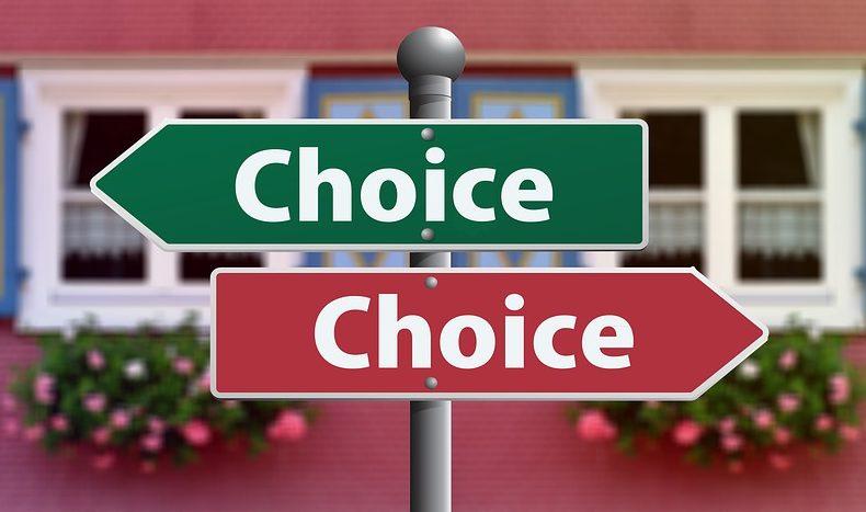 どちらを選ぶ?